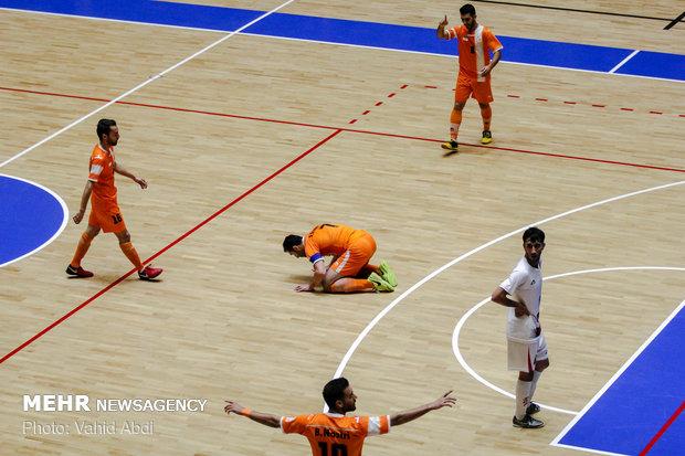 شکست تیم فوتسال مس سونگون مقابل نماینده ژاپن