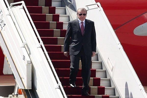 الرئيس التركي يصل إلى طهران للمشاركة في القمة الثلاثية حول سوريا