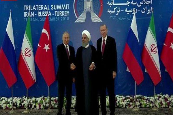 Iran, Turkey, Russia reaffirm joint coop. till full eradication of terrorism in Syria