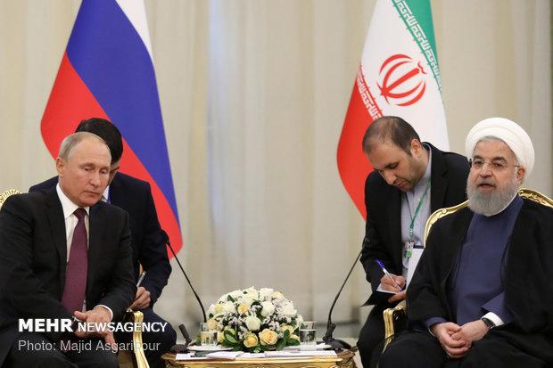 Trust between Iran, Russia to expand coop. 'unprecedented'