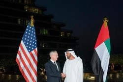 گفتگوی وزیر دفاع آمریکا و ولیعهد ابوظبی پیرامون تحولات خاورمیانه