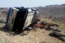 مقتل 19 شخصا في انقلاب شاحنة تقل مهاجرين غربي تركيا