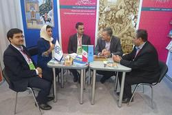 بازدید رئیس نمایشگاه کتاب مسکو از غرفه ایران