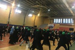 همایش بزرگ ایروبیک بانوان شهر تهران برگزار شد