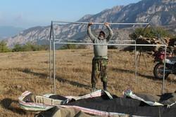 ۳ چادر گاو بانگی در منطقه حفاظتشده پرور مهدیشهر برپا شد