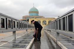 ۱۷ باب گلزار شهدا در استان قزوین در حال مرمت و بازسازی است