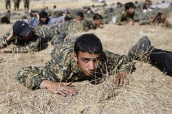 Mohammad Rasulollah Division military drills
