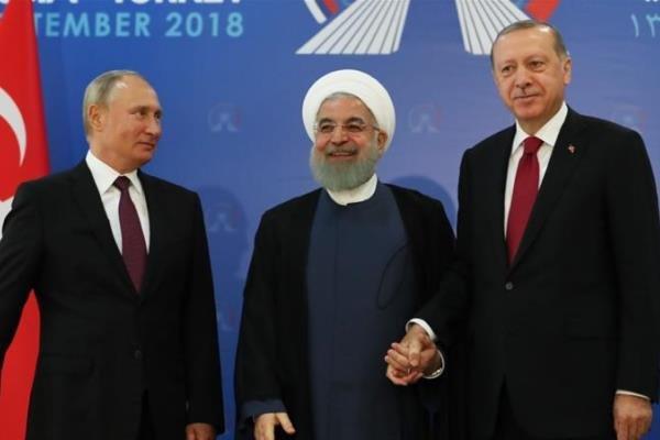 بازتاب نشست سه جانبه تهران در رسانه های خبری جهان