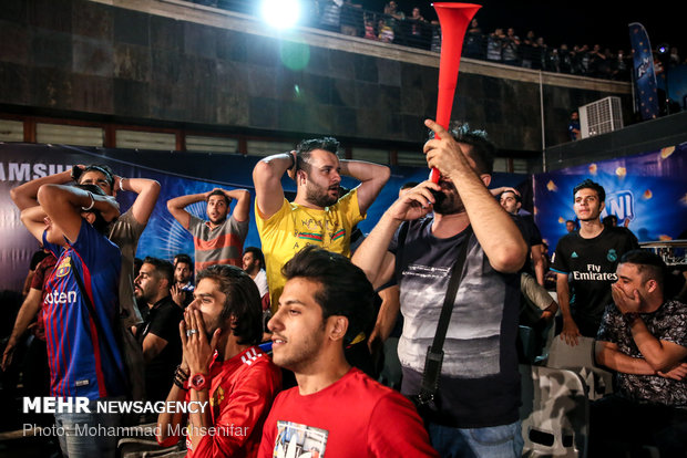 اختتام الدورة الرابعة لبطولة الألعاب الالكترونية في طهران