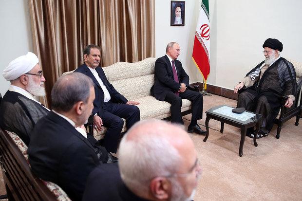 Iran's Leader receives Turkish, Russian presidents in Tehran