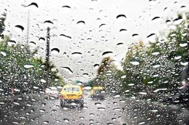 ثبت ۴۱ میلیمتر بارش در شهر دهدشت/بارش ۱۳ میلیمتری در مرکز استان
