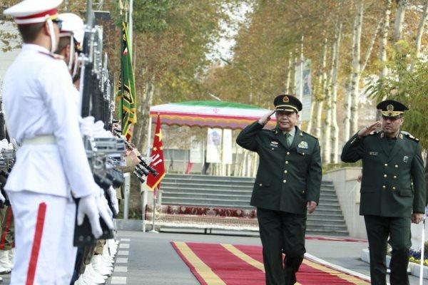 چين کا ایران کے ساتھ فوجی تعاون کو فروغ دینے کا عزم