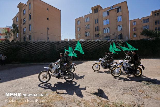 Muhammad Rasulullah Division military drills