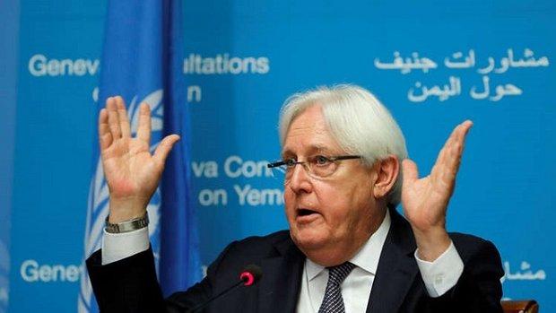 المبعوث الاممي: وفد صنعاء كان حريصا على الوصول إلى جنيف لولا الأمور اللوجيستية