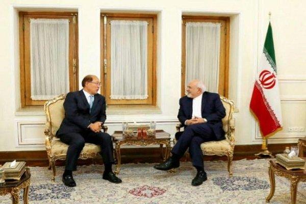ظريف يستقبل  الأمين العام للمنظمة البحرية الدولية