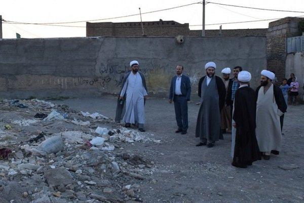 بازدید از حاشیه شهر مشهد