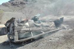 ۳ کشته و ۲۴ مجروح بر اثر حادثه رانندگی در جنوب سیستان و بلوچستان