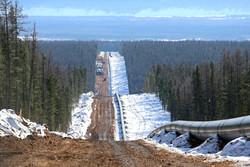 خط لوله انتقال گاز روسیه به چین ۹۳درصد پیشرفت فیزیکی دارد