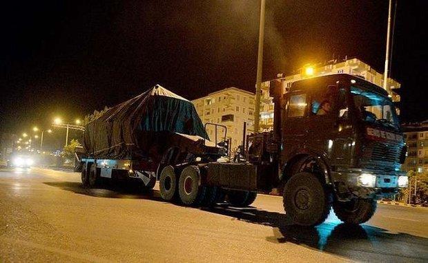تركيا ترسل تعزيزات عسكرية جديدة على حدودها مع سوريا