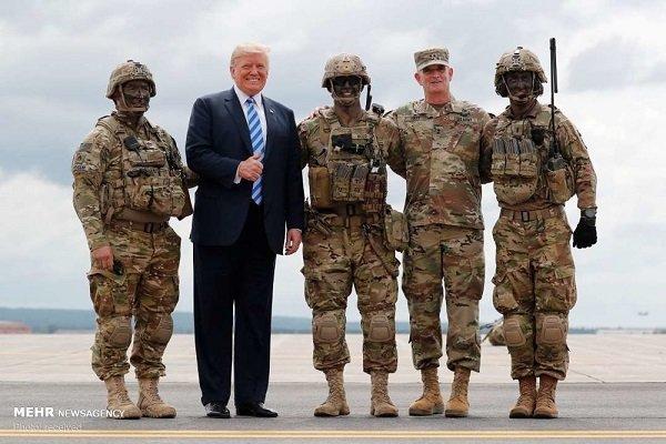 امکان استفاده از منابع ارتش برای ساخت دیوار میان مکزیک و آمریکا,