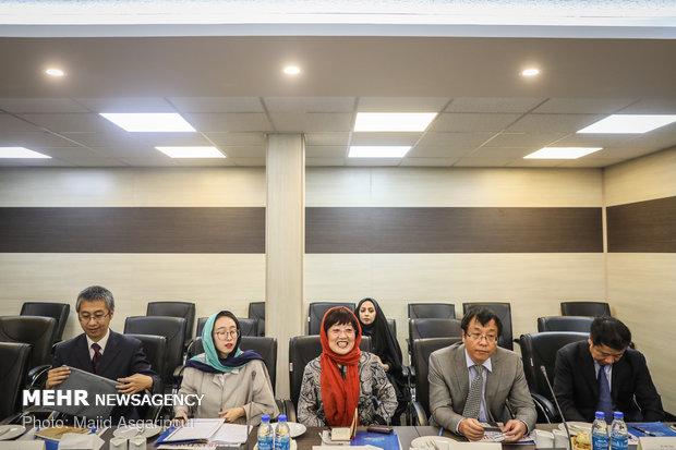 Chinese journalists visit MNA HQ