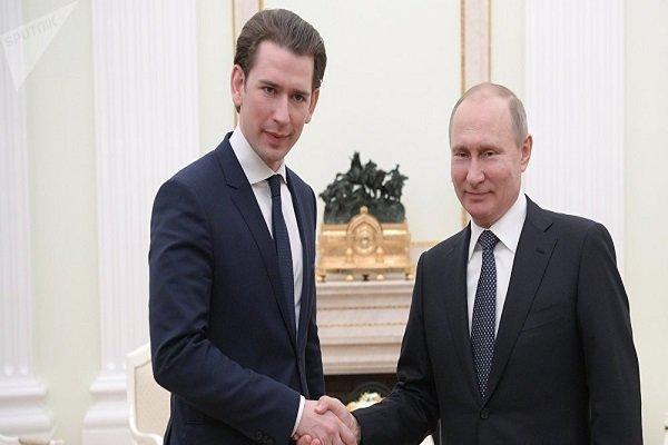 رییسجمهور روسیه و صدراعظم اتریش گفتگو کردند