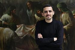 رونمایی از «لشکر فاطمیون» اثر نقاشی حسن روح الامین