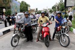 توزیع ۱۰۰۰ عدد کلاه ایمنی بین موتورسواران ۲۴ روستای مازندران