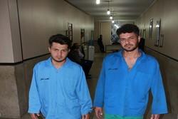 دستگیری دو سارق مامورنما/انتشار عکس با مجوز قضایی