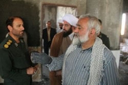 «کوییک حسن» و یک مهمان ویژه/حضور سردار نقدی در اردوهای جهادی غرب