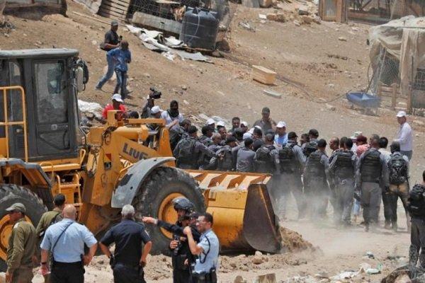 اسرائیل کا فلسطینی گاؤں کے انہدام کا فیصلہ