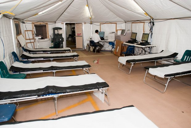 استقرار سه بیمارستان صحرایی با ظرفیت ۶۰ تخت در مرز چذابه
