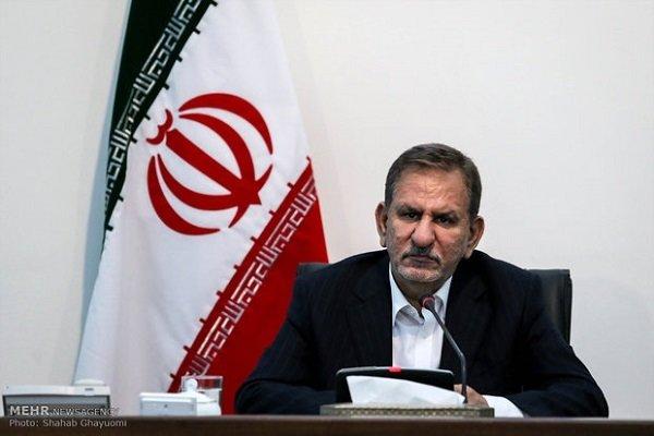 جهانغيري: محاولات العدو تتمحور حول رسم خريطة مستقبل مشوهة للشعب الإيراني