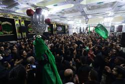ایران کے شہر بیرجند میں علم اٹھانے کی تقریب