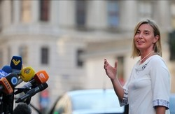 Mogherini is happy, why not!