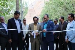 بزرگترین اقامتگاه بومگردی استان یزد در روستای گلافشان افتتاح شد