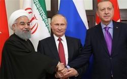 Turkey, Iran, Russia determined to save region