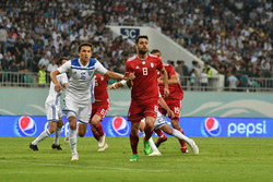Iran football wins friendly against Uzbekistan 1-0