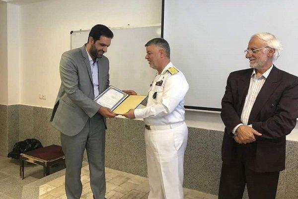 نیروی دریایی ارتش آماده همافزایی و همکاری با مراکز علمی کشور است