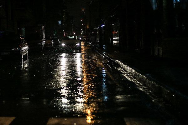 بارندگی در تهران/هوا خنک میشود