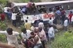 ہندوستان میں ہندو یاتریوں کی بس کو حادثہ، ہلاکتوں کی تعداد 55 ہوگئی