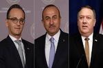 ترکی کے وزیر خارجہ کی امریکی اور جرمن وزراء خارجہ سے ملاقات