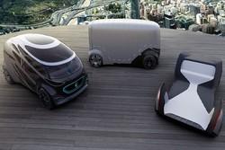 بنز آینده حمل و نقل شهری را به نمایش گذاشت