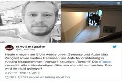 Avusturyalı gazeteci Türkiye'de gözaltına alındı