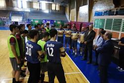 صحبتهای تکراری در تمرین تیم فوتسال المپیک ایران