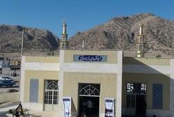 مسجد اهدایی کارکنان وزارت دفاع در کرمانشاه به بهره برداری رسید