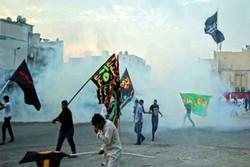 بحرین میں اسلامی اور عزاداری شعائر پرحکومتی حملے کے خلاف عوامی مظاہرہ