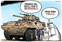 How can we defend human rights while selling arms to Saudi Arabia?