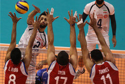 Iran volleyball begins world c'ships with commanding win