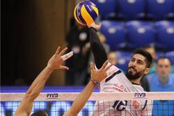 دیدار تیم ملی والیبال ایران و پورتوریکو